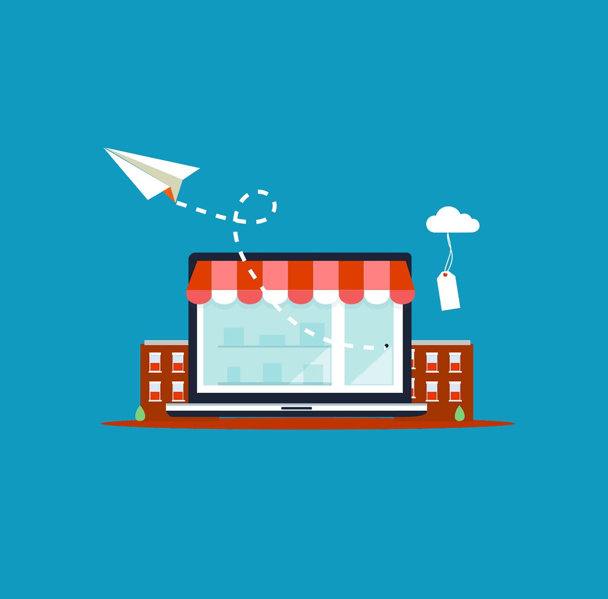 חנות דיגיטלית בעשייה